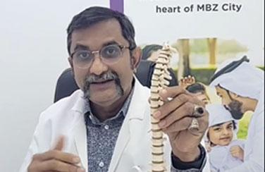 Bareen International Hospital conducts Facebook Live Q&A with Dr. Venkata Kiran, Specialist - Orthopedic Surgery