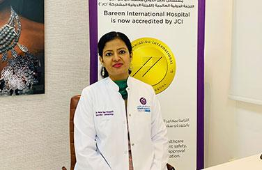 Bareen International Hospital airs on Facebook Live Q&A with Dr. Merin Paul Pittappillil
