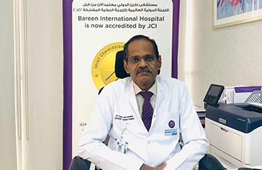 Bareen International Hospital airs on Facebook Live Q&A with Dr. Francis John Kennedy